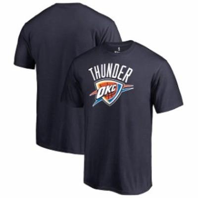 Fanatics Branded ファナティクス ブランド スポーツ用品  Fanatics Branded Oklahoma City Thunder Navy Big & Tall Primary Logo T-Shi