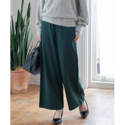 ViS / 【WEB限定Lサイズ】ポンチイージーワイドパンツ WOMEN パンツ > スラックス