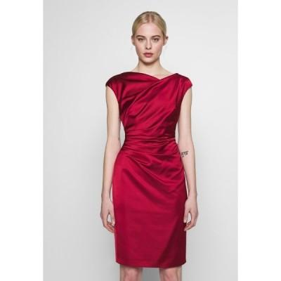 スウィング ワンピース レディース トップス Cocktail dress / Party dress - rio red