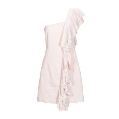 ドンダップ DONDUP ミニワンピース&ドレス ローズピンク S コットン 50% / ポリエステル 50% ミニワンピース&ドレス