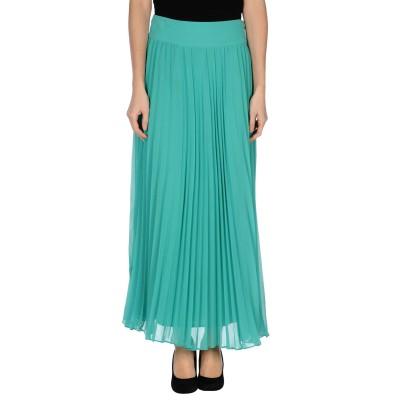 TRAFFIC PEOPLE ロングスカート グリーン M ポリエステル 100% ロングスカート