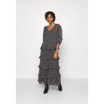 ジェイディーワイ ワンピース レディース トップス JDYPENELOPE DRESS - Maxi dress - black/grey