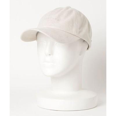 帽子 キャップ 【DICKIES/ディッキーズ】FAKE SUEDE キャップ /フェイクスエードキャップ