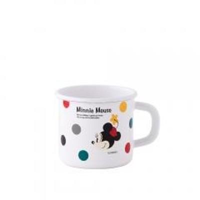 富士ホーロー ディズニー ミッキー&ミニーシリーズ 7cm マグカップ.2 ミニー Honey Ware ほうろう