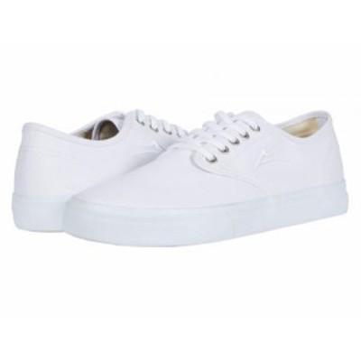 Lakai ラカイ メンズ 男性用 シューズ 靴 スニーカー 運動靴 Oxford White Canvas【送料無料】
