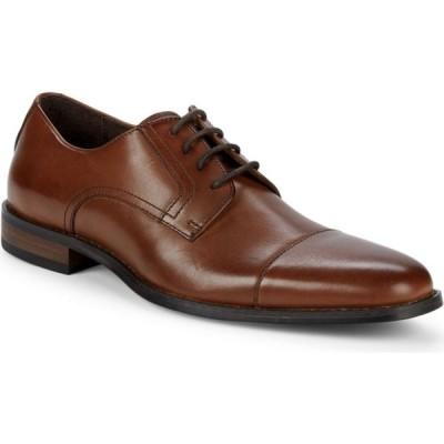 ブラックブラウン Black Brown 1826 メンズ 革靴・ビジネスシューズ ダービーシューズ シューズ・靴 citadel leather cap-toe derby shoes ミディアムブラウン