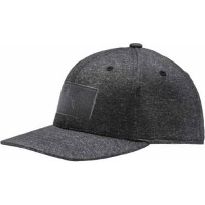 プーマ メンズ 帽子 アクセサリー PUMA Boys' Utility Patch 110 Snapback Golf Hat Puma Black