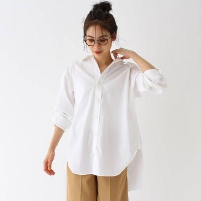アクアガール aquagirl Americana(別注)バックオープンシャツ (ホワイト)