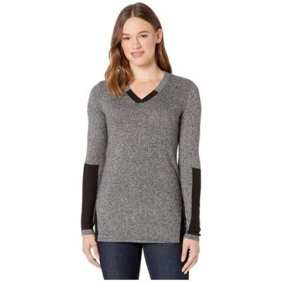 スマートウール Smartwool レディース チュニック トップス Shadow Pine Tunic Sweater Black/Moonbeam Marl
