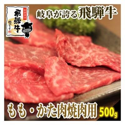 肉 牛肉 バーベキュー 焼肉 和牛 飛騨牛ももかた肉 500g おうち焼き肉に!