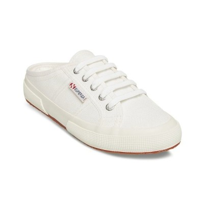 スペルガ スニーカー シューズ レディース Women's 2402 Cotw Slip-on Backless Sneakers White