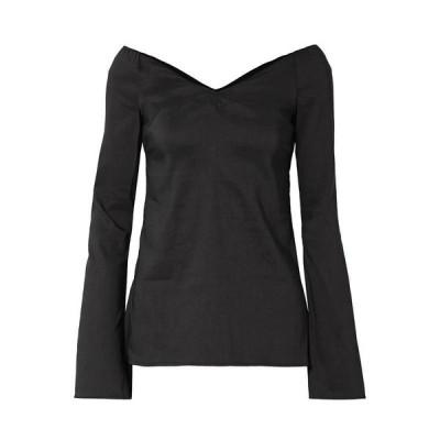 BEAUFILLE ブラウス  レディースファッション  トップス  シャツ、ブラウス  長袖 ブラック