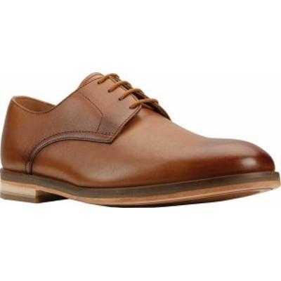 クラークス メンズ スニーカー シューズ Men's Clarks Oliver Lace Oxford Tan Leather