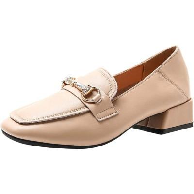 [BALLETSTAR] ローファー スリッポン レディース パンプス フォーマル ビジネス 女子高校生 学生靴 安全靴 通勤 通学 冠婚葬祭 柔らか