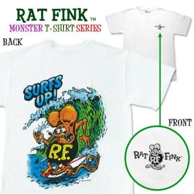 """Rat Fink(ラットフィンク)  モンスター Tシャツ """"Surf Up """""""