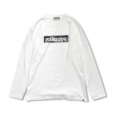 ロンT 長袖 メンズ ストリート ダブルスティール DOUBLE STEAL 2019 FALL / Photo Box Logo 長袖 Tシャツ
