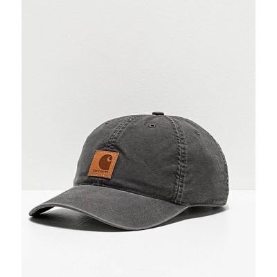 カーハート CARHARTT メンズ キャップ スナップバック 帽子 Carhartt Odessa Black Strapback Hat Black