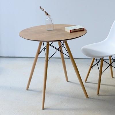 ラウンドダイニングテーブル イームズ ラウンドテーブル 丸テーブル シェルチェアデザイン DSW φ70 700mm MTS-142