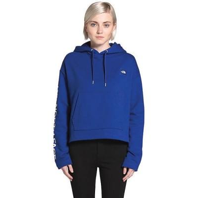 (取寄)ノースフェイス レディース エフティー ロゴ クロップ ロングスリーブ プルオーバー フーディ The North Face Women's FT Logo Crop LS Pullover Hoo