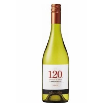 送料無料 ワイン【チリ国内シェアNo.1ワイナリー サンタ・リタ】サンタ・リタ 120(シェント・ベインテ)シャルドネ 750ml×12本 wine