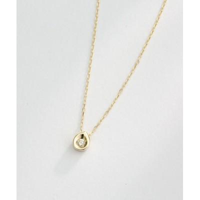 L&Co. / K10 ダイヤモンド ネックレス WOMEN アクセサリー > ネックレス