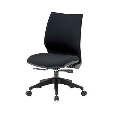 3D座面 疲れにくいオフィスチェア 肘無し FST-88 ブラック