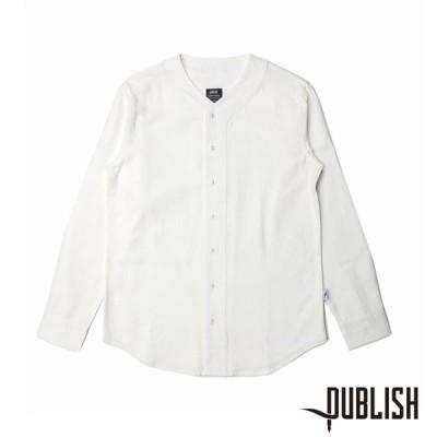【PUBLISH BRAND/パブリッシュブランド】CAVIN 長袖シャツ / WHITE