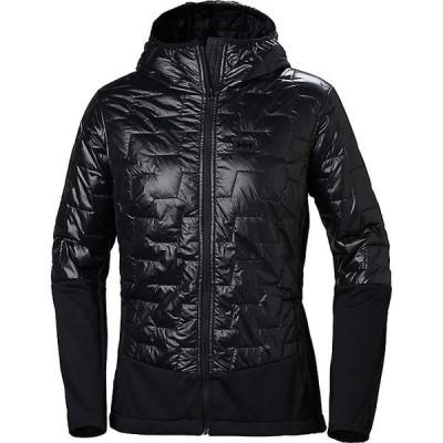 ヘリーハンセン ジャケット・ブルゾン レディース アウター Helly Hansen Women's Lifaloft Hybrid Insulator Jacket Black
