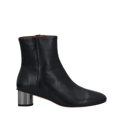 CLERGERIE ショートブーツ ブラック 37 羊革(ラムスキン) ショートブーツ