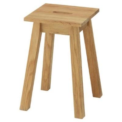 角スツール スツール チェア 椅子 ハーフェン ナチュラル おしゃれ 北欧 腰掛け 1人用 一人掛け 木製 天然木 MTK-521NA / 東谷
