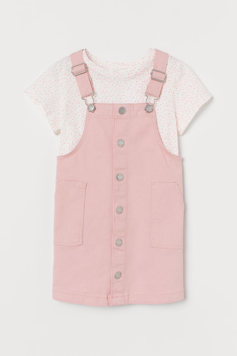 H & M - 2件組套裝 - 粉紅色