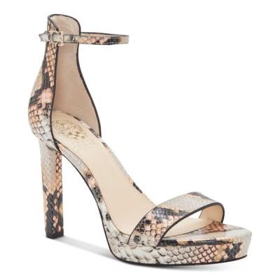ヴィンス カムート Vince Camuto レディース サンダル・ミュール シューズ・靴 Balindia Heeled Dress Sandals Creamsicle Multi Snake