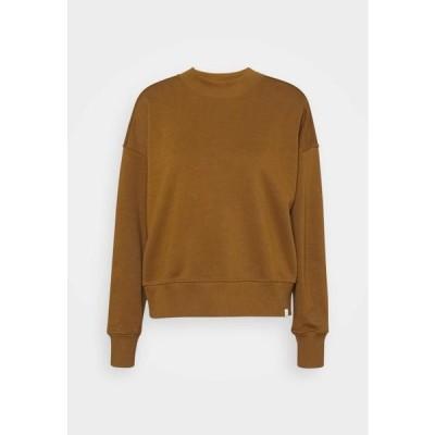 スコッチ&ソーダ レディース ファッション CREWNECK - Sweatshirt - tabacco