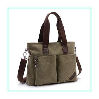 ToLFE Women Top Handle Satchel Handbags Tote Purse Shoulder Bag (Army Green)並行輸入品