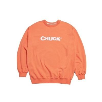 スウェット 【CHUCK 】CHUCK FRUIT LOGO SWEATSHIRT / フルーツロゴ スウェットシャツ