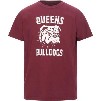 BL'KER メンズ Tシャツ トップス t-shirt Maroon