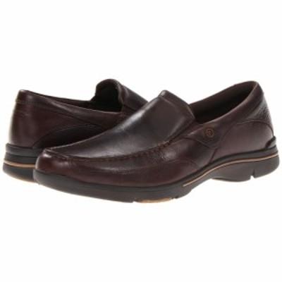 ロックポート Rockport メンズ ローファー シューズ・靴 Eberdon Dark Brown Leather