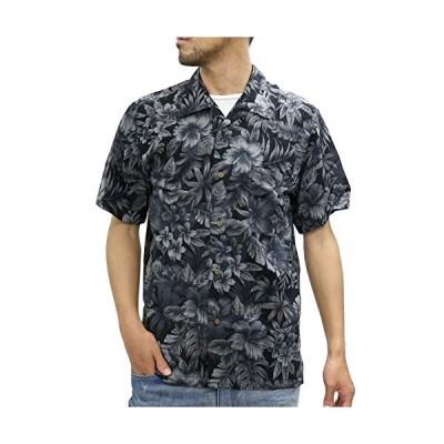 [ルーシャット] アロハシャツ レーヨン 総柄プリントシャツ 柄5 M