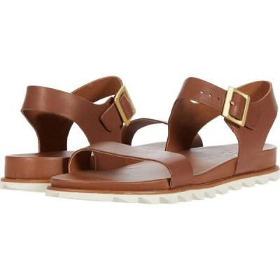 ソレル SOREL レディース サンダル・ミュール アンクルストラップ シューズ・靴 Roaming(TM) Decon Ankle Strap Velvet Tan