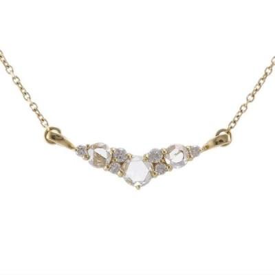 K18YG イエローゴールド ダイヤモンド 0.27ct ネックレス 6EAU4178550-AB 天然石