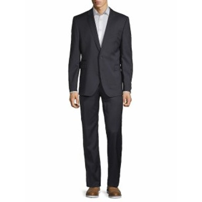 ストレルソン Men Clothing Textured Wool Suit