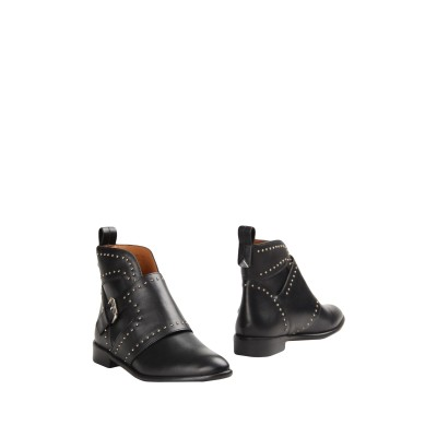 エンポリオ アルマーニ EMPORIO ARMANI ショートブーツ ブラック 37 なめし革 ショートブーツ
