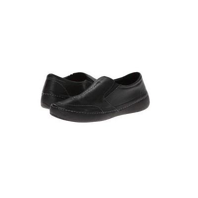 ファッションフラッツ オックスフォード シューズ ヴィオニック Vionic ウイズ Orthaヒール Technology Addison Twin Gore スリッポン ブラック サイズ 6-9 NEW
