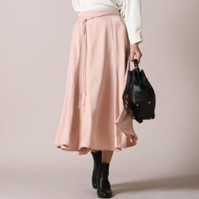 【NEW】ケティシェリー(ketty cherie)/ウエストリボンサテンスカート ≪手洗い可能≫