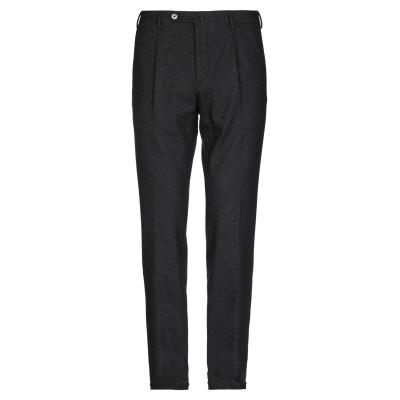 GTA IL PANTALONE パンツ ブラック 46 バージンウール 35% / コットン 27% / ポリエステル 23% / ナイロン 12