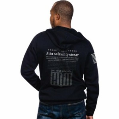 line ライン ファッション トップス Nine Line Apparel The Oath Full-Zip Hoodie - Black
