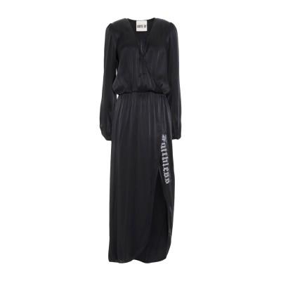 アニヤバイ ANIYE BY ロングワンピース&ドレス ブラック XS レーヨン 100% / ナイロン ロングワンピース&ドレス