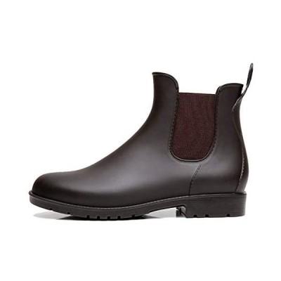 [Taring] レインシューズ レディース レインブーツ メンズ ショートブーツ サイドゴア 雨靴 オシャレ 無地 防水 台風 耐滑 通勤 通学