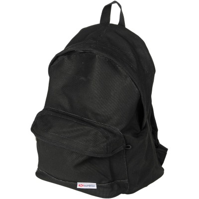 スペルガ SUPERGA バックパック&ヒップバッグ ブラック コットン 100% バックパック&ヒップバッグ