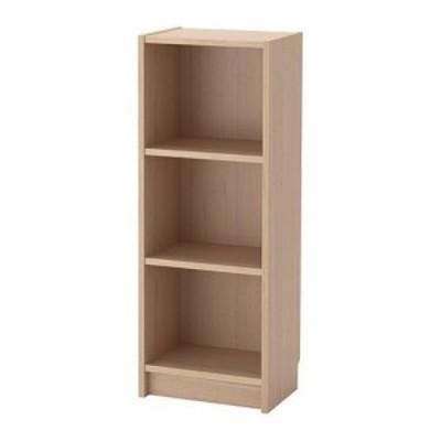 IKEA イケア BILLY ビリー 書棚 ホワイトステインオーク材突き板 z80404238